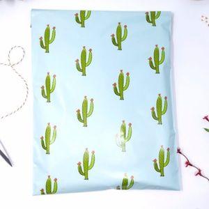 50 cactus designer 6x9 poly mailers
